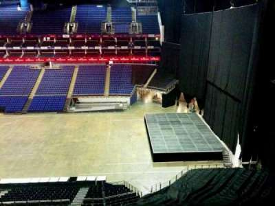 The O2 Arena, section: 422, row: d, seat: 967