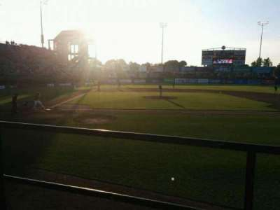 McCoy Stadium, section: 4, row: B, seat: 4
