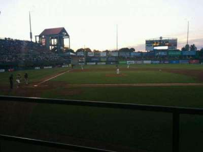 McCoy Stadium, section: 4, row: b, seat: 4
