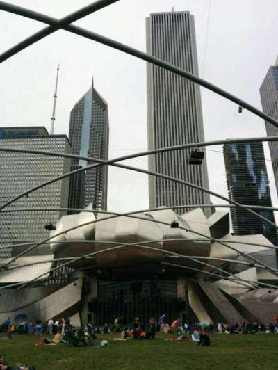 Jay Pritzker Pavilion, section: lawn