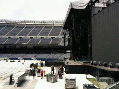 Soldier Field, section: 103, row: 6, seat: 8