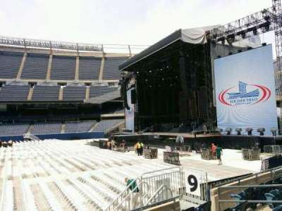 Soldier Field, section: 105, row: 6, seat: 9