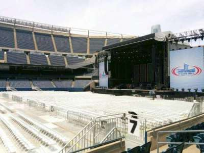 Soldier Field, section: 107, row: 5, seat: 9