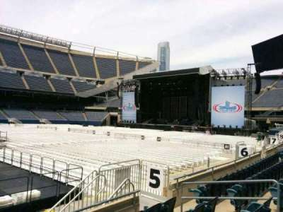 Soldier Field, section: 110, row: 5, seat: 11