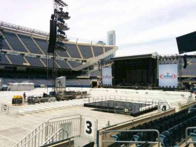 Soldier Field, section: 112, row: 6, seat: 10