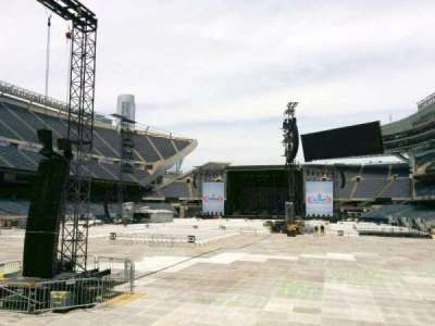 Soldier Field, section: 120, row: 4, seat: 5