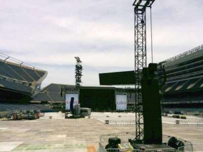 Soldier Field, section: 124, row: 3, seat: 5