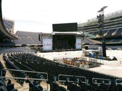Soldier Field, section: 131, row: 16, seat: 9