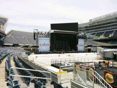 Soldier Field, section: 133, row: 4, seat: 9