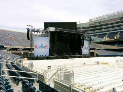 Soldier Field, section: 136, row: 4, seat: 12
