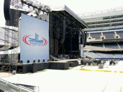 Soldier Field, section: 143, row: 4, seat: 11