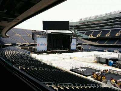 Soldier Field, section: 234, row: 2, seat: 9