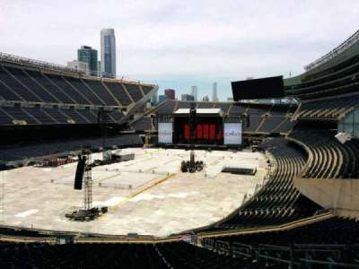 Soldier Field, section: 319, row: 3, seat: 20