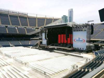 Soldier Field, section: 208, row: 2, seat: 8