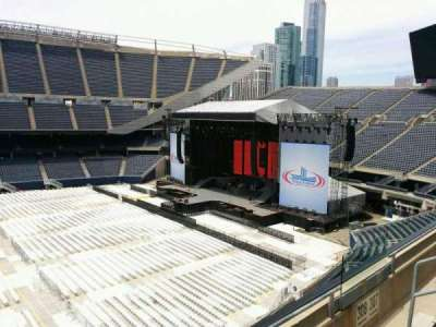 Soldier Field, section: 308, row: 3, seat: 10
