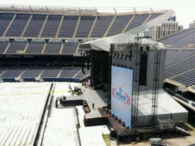 Soldier Field, section: 304, row: 3, seat: 8