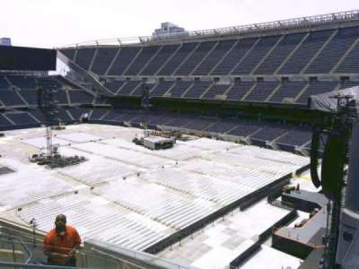 Soldier Field, section: 302, row: 8, seat: 6