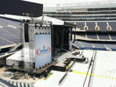 Soldier Field, section: 342, row: 2, seat: 11