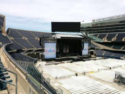 Soldier Field, section: 335, row: 2, seat: 7