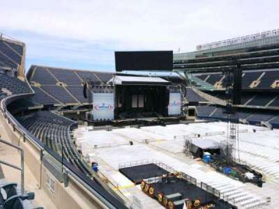 Soldier Field, section: 333, row: 2, seat: 9