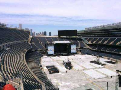 Soldier Field, section: 428, row: 8, seat: 3