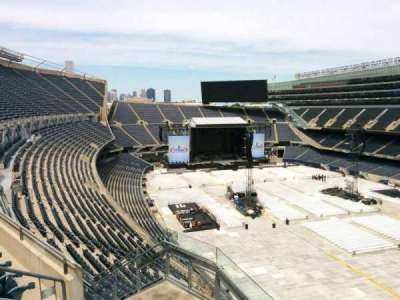 Soldier Field, section: 429, row: 4, seat: 7
