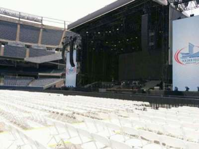 Soldier Field, section: a1, row: 13, seat: 11