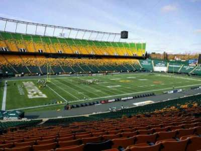 Commonwealth Stadium (Edmonton), section: z, row: 41, seat: 17