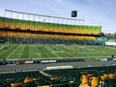 Commonwealth Stadium (Edmonton), section: x, row: 25, seat: 4