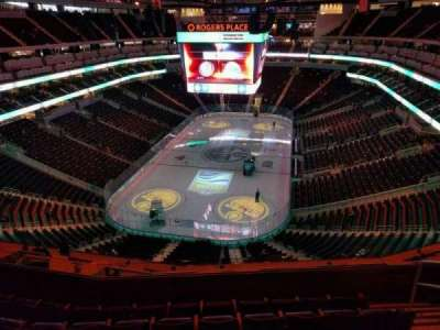 Rogers Place, section: 210, row: 6, seat: 5