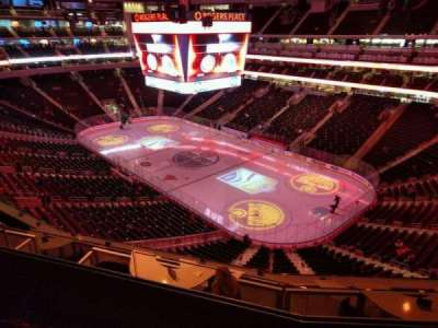 Rogers Place, section: 215, row: 3, seat: 10
