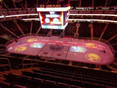 Rogers Place, section: 218, row: 8, seat: 15