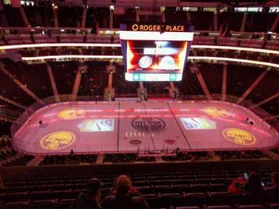 Rogers Place, section: 220, row: 9, seat: 13
