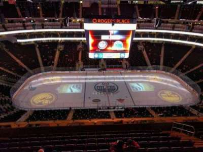 Rogers Place, section: 220, row: wc, seat: 7