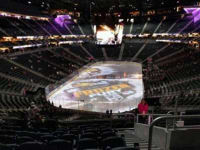 T-Mobile Arena, section: 102, row: j, seat: 12