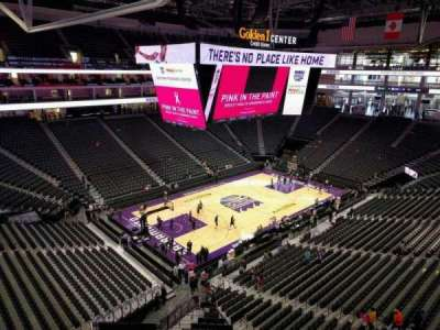 Golden 1 Center, section: 208, row: a, seat: 13