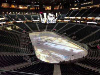 T-Mobile Arena, section: 212, row: b, seat: 7