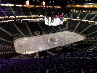 T-Mobile Arena, section: 220, row: p, seat: 9