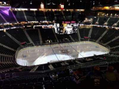 T-Mobile Arena, section: 221, row: r, seat: 11