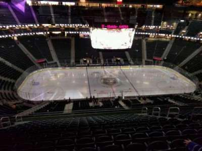 T-Mobile Arena, section: 222, row: p, seat: 9