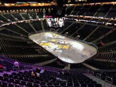 T-Mobile Arena, section: 210, row: wc