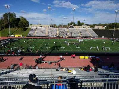 Johnny Unitas Stadium, section: 212, row: d, seat: 11
