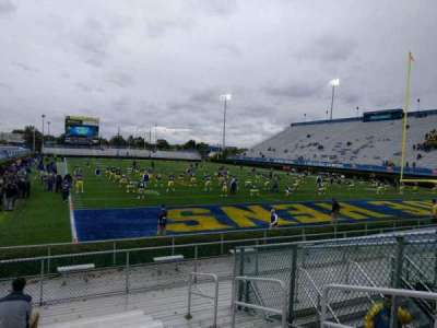 Delaware Stadium, section: hh, row: l, seat: 4