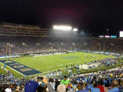 Rose Bowl, section: 1-L, row: 67, seat: 2