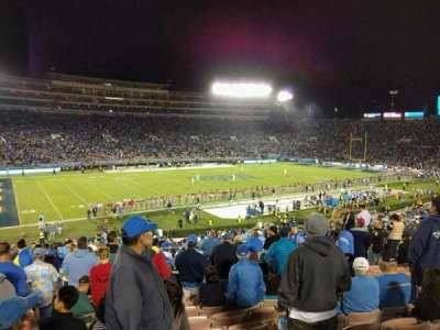 Rose Bowl, section: 2-H, row: 41, seat: 103