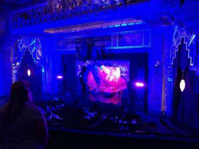 Pantages Theatre (Hollywood), section: Mezzanine R, row: B, seat: 10