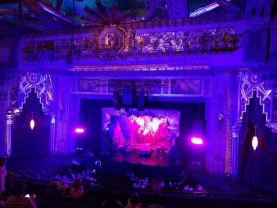 Pantages Theatre (Hollywood), section: Mezzanine RC, row: h, seat: 209