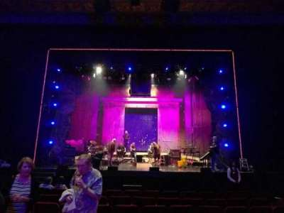Pantages Theatre (Hollywood), section: orchestra c, row: j, seat: 106