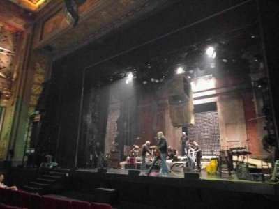 Pantages Theatre (Hollywood), section: orch, row: f, seat: 205