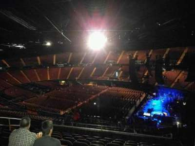 The Forum, section: 212, row: 13, seat: 11